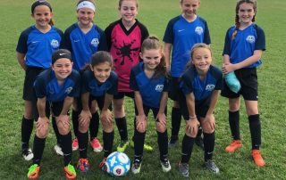 These girls are talented players who can move the ball quickly regardless of their opponent.